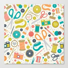 Get Crafty Canvas Print