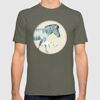 Zebra Mens Fitted Tee Lieutenant SMALL