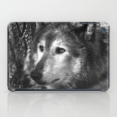 Pondering Wolf iPad Case