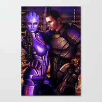 Mass Effect - For Love..… Canvas Print