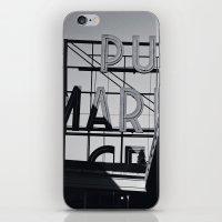 pike place iPhone & iPod Skin