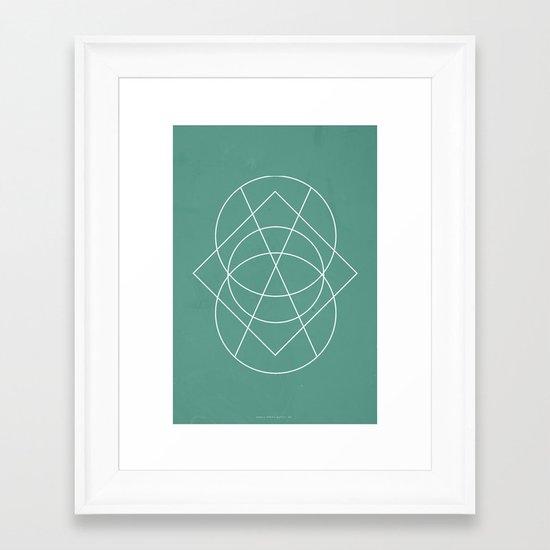 Geometric No.3 Framed Art Print