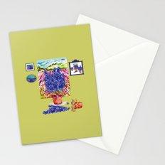 Arranging Delphinium Stationery Cards