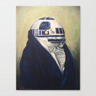 Duke R2-D2 Canvas Print