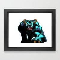 Sully.... Framed Art Print