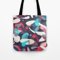 Tote Bag featuring Molecular by Tracie Andrews