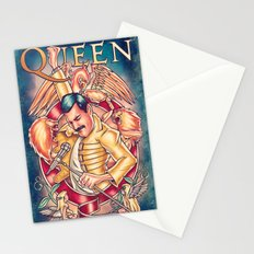 Don't Stop Queen Now Stationery Cards