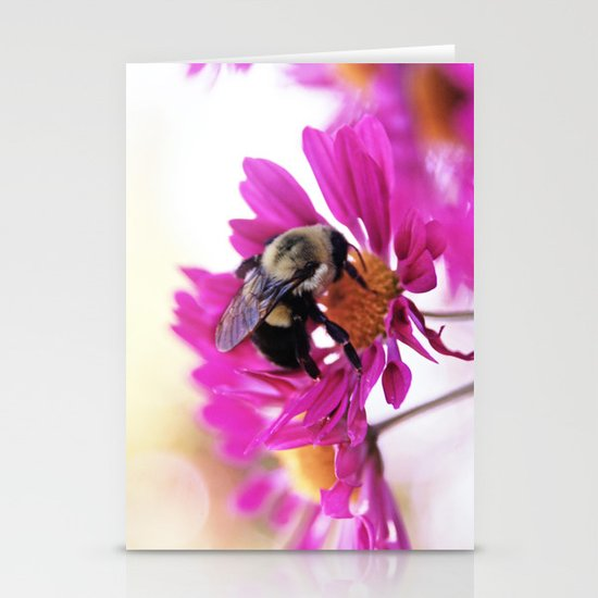 Queen Bee Stationery Card
