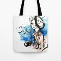 Swan Princess Tote Bag