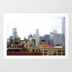 New York City View Art Print
