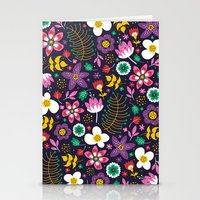 Sweet Viola Stationery Cards