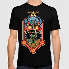 Epic Triforce of the Gods Black Mens Fitted Tee SMALL