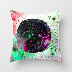 Hole In The Space-Time Fabric Throw Pillow