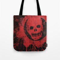 Gears Of War Tote Bag