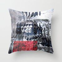 THE ETHNOLOGY Throw Pillow