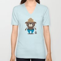 Smokey Bear Unisex V-Neck