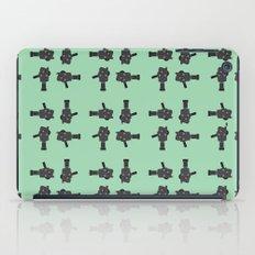 camera 02 pattern iPad Case