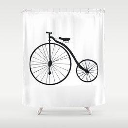 Shower Curtain - Vintage Bicycle  - Marissa Yunque