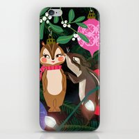 Chipmunk Kisses Holiday … iPhone & iPod Skin