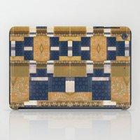 Blue Gold iPad Case