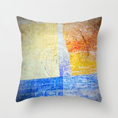 Abstract Daesign 7676 Throw Pillow