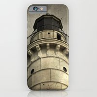 iPhone & iPod Case featuring To Warn a Weary Sailor by Curt Saunier
