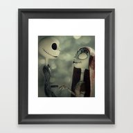 Take My Hand (Nightmare … Framed Art Print