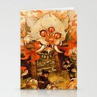 The Terror on Tashirojima Island Stationery Cards