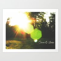 Orchid - Feel it in the air Art Print