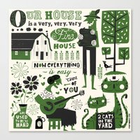 Our House Canvas Print