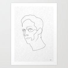 One Line Community: Abed Nadir Art Print
