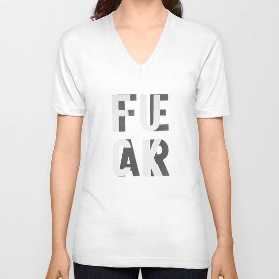 Fuck Fear V-neck T-shirt