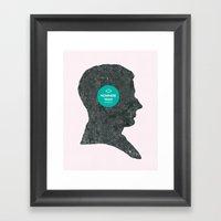 Nowhere Man. Framed Art Print