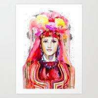 Lazarka Art Print