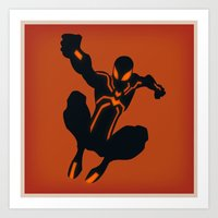 Peter's Stealth Suit (Sp… Art Print