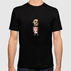 8-Bit: Joakim Noah Mens Fitted Tee Black SMALL