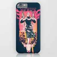 iPhone & iPod Case featuring Supreme by Hillary White