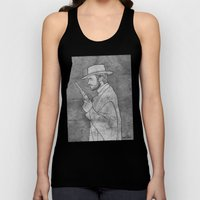 The Man With No Name Unisex Tank Top