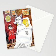 Girl & Wolf Stationery Cards