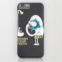 Brush your teeth iPhone 6 Slim Case