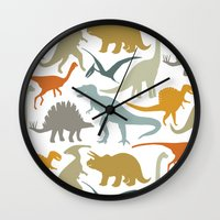 Dinosaur Friends Wall Clock