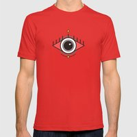 The Seeing Eye Mens Fitted Tee Red SMALL