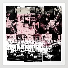 Concrete Jungle 1 Art Print