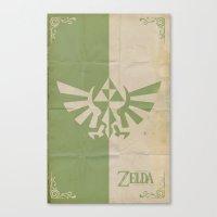 Legend of Zelda: Triforce Canvas Print