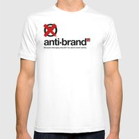 Anti-brand® Mens Fitted Tee White SMALL