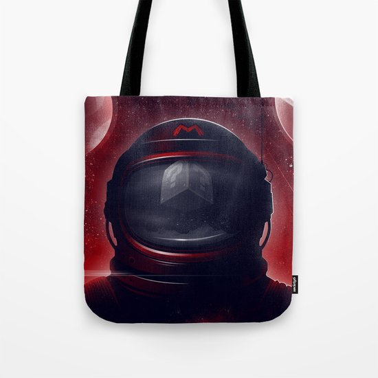 Super Mario Galaxy Tote Bag
