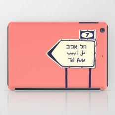 Tel Aviv This way iPad Case