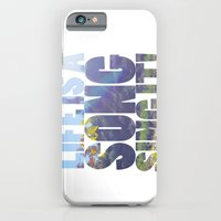iPhone & iPod Case featuring Life is a Song by gtjandra29