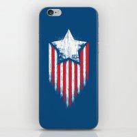 Star & Stripes iPhone & iPod Skin
