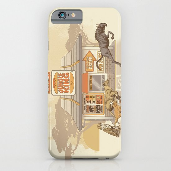 Fast Food (Jungle King) iPhone & iPod Case